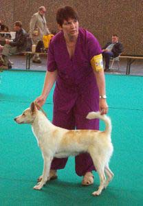 Lyndsay at the World Show 2002